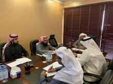 اجتماع اللجنة العليا للإشراف على ملتقى المجلات التربوية بالمملكة العربية السعودية